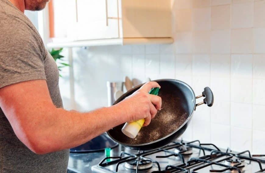 How To Remove Cooking Spray Residue